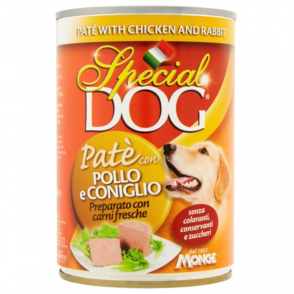 SPECIAL DOG PATE'400GR POL/CON