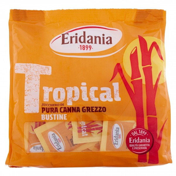 ERIDANIA ZUCCHERO CANNA BUSTINE 500 GR