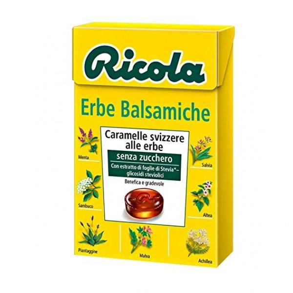 RICOLA BST ERBE BALSAMICHE SENZA ZUCCHERO 70 GR