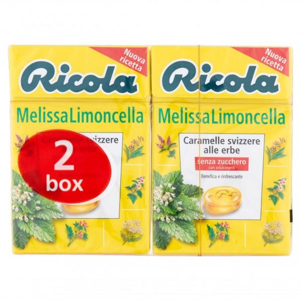 RICOLA LIMONCELLA BIPACK 50 GR