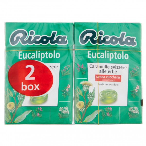 RICOLA EUCALIPTOBIPACK 50 GR