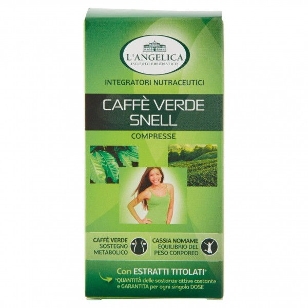 L'ANGELICA CAFFE' VERDE SNELLENTE 24 GR