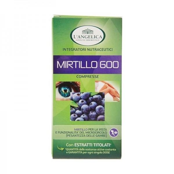L'ANGELICA MIRTILLO 600 75 COMPRESSE 22,5 GR