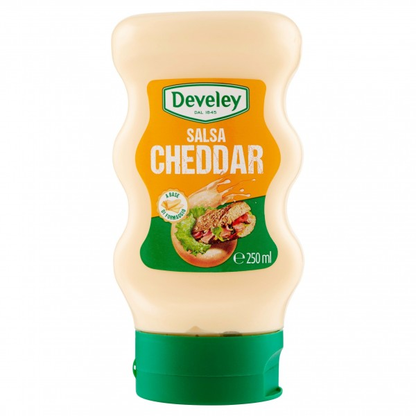DEVELEY SALSA CHEDDAR 250 ML