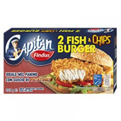 FINDUS FISH CHIPS BURGER GR227