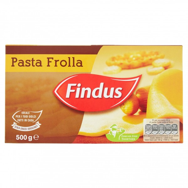 FINDUS PASTA FROLLA 500 g