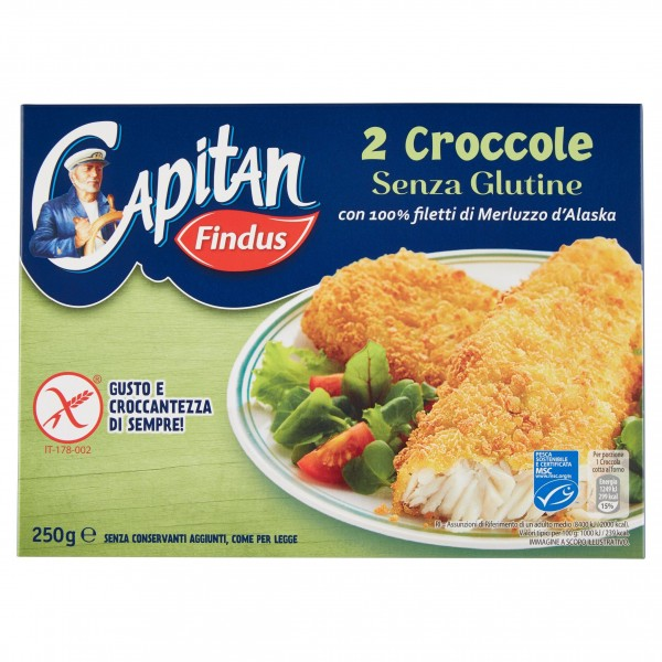 FINDUS CROCCOLE S/GLUT. 250 g