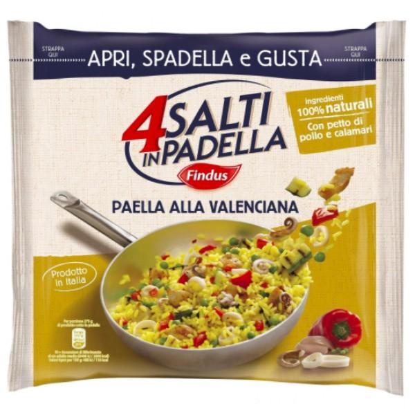 4 SALTI IN PADELLA PAELLA ALLA VALENCIANA 550 g
