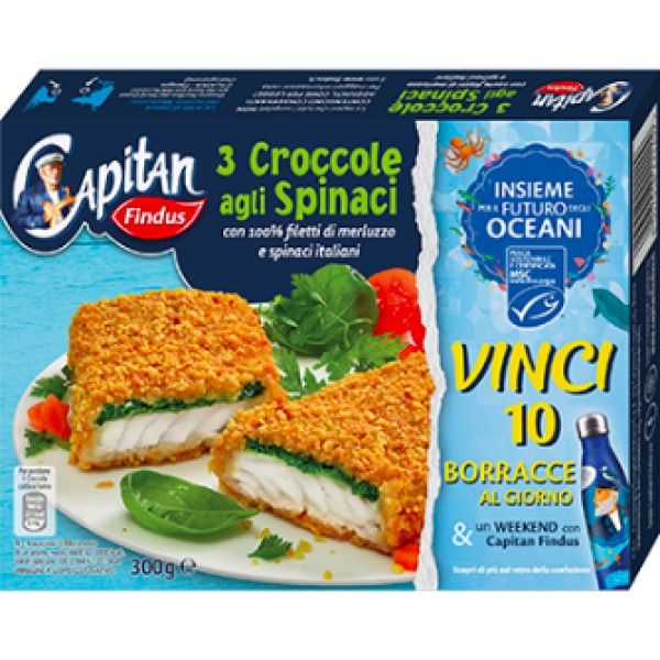 FINDUS CROCCOLE SPIN. 300 g