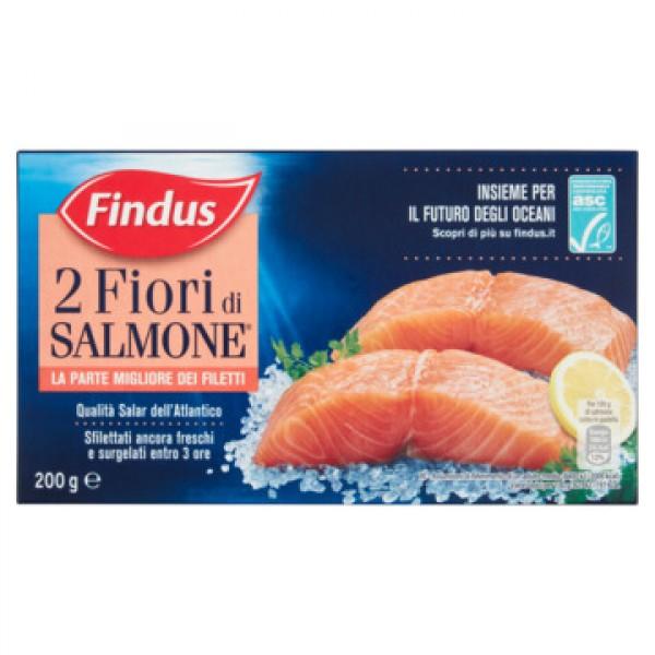 FINDUS 2 FIORI DI SALM. 200 g