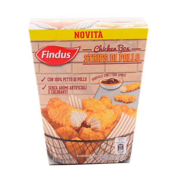 FINDUS CHICKE BOX STRIPS POLLO