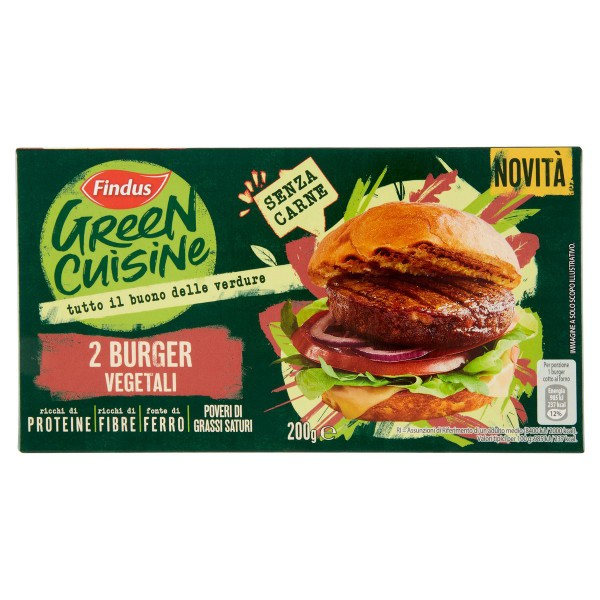 FINDUS BURGER VEGETALI G.200 *