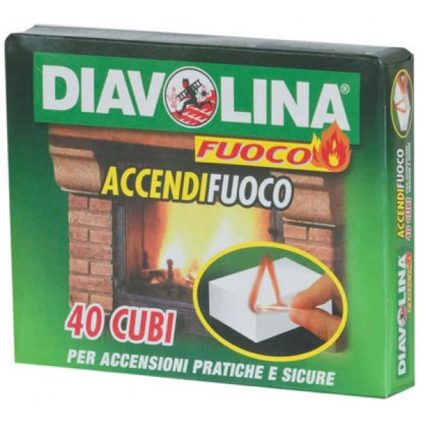 DIAVOLINA ACCENDIFUOCO 40 PEZZI