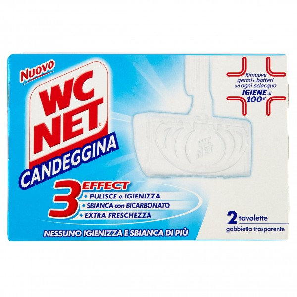 WC NET TAVOLETTA SOLIDA C/CANDEGGINA X2 Pz