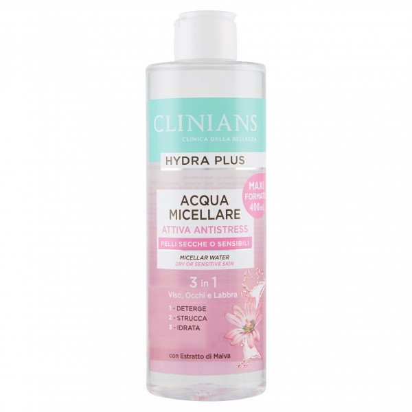 CLINIANS ACQUA MIC.400ML ANTIS