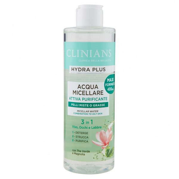 CLINIANS ACQUA MIC.400ML PURIF