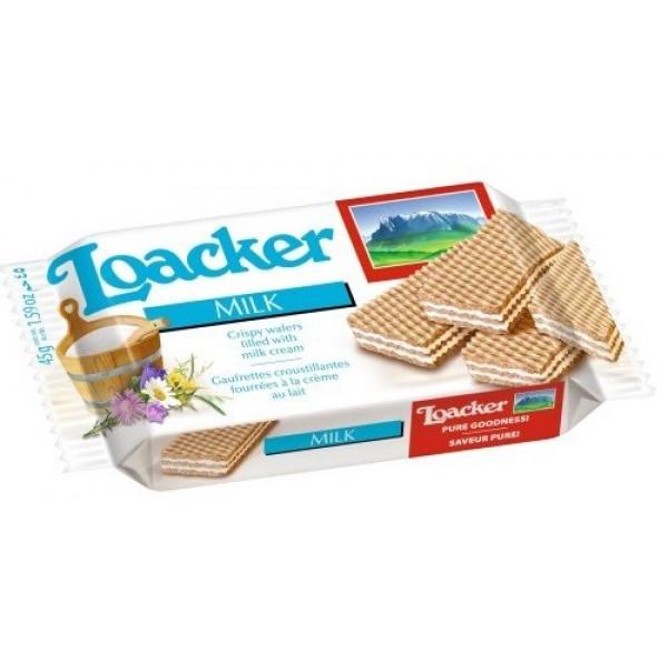 LOACKER WAFER LATTE GR45X4