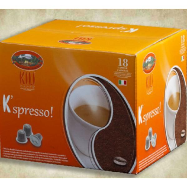KILI CAFFE' BAR 18 CAPSULE