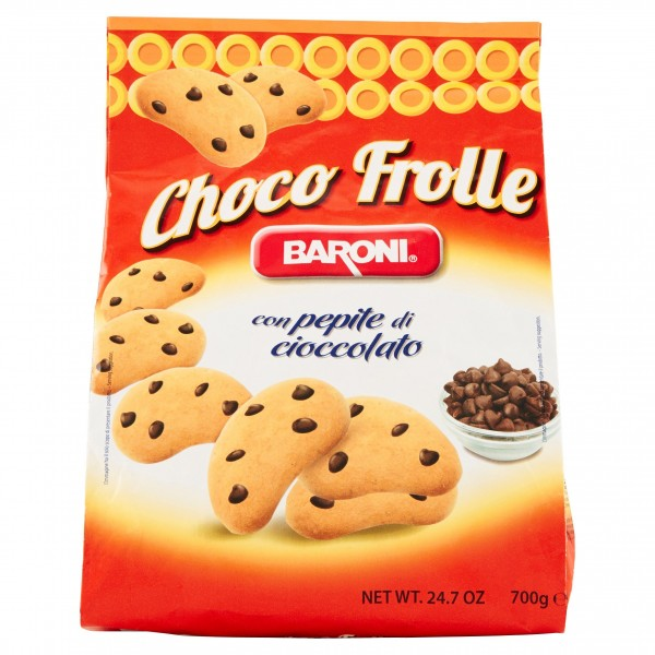 BARONI BISCOTTI CHOCO FROLLE 700 GR