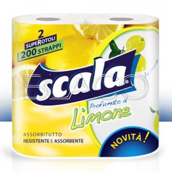 SCALA ASCIUGATUTT.2 ROT.LIMONE