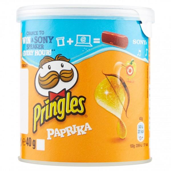 PRINGLES PAPRIKA MINI 40 g