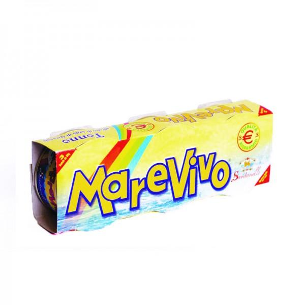 MAREVIVO GIRASOLE TONNO CONFEZIONE DA 3 PER 80