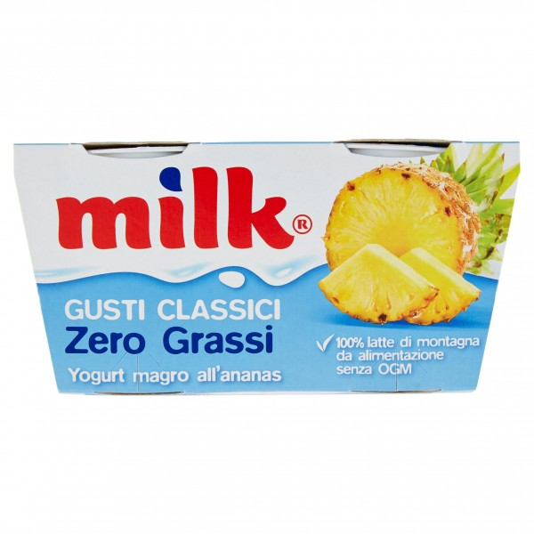 MILK YOGURT ANANAS ZERO 125X2