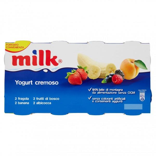 MILK YOG.CREMOSO GR.125X8