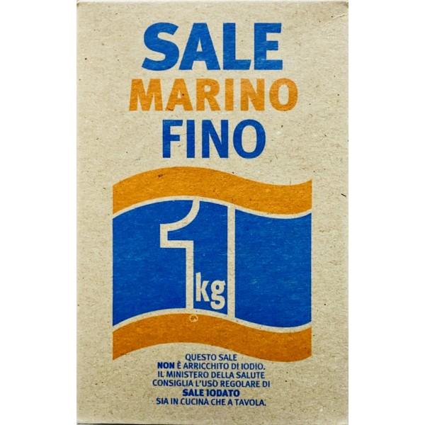 SALE MARINO NATURALE FINO 1 KG