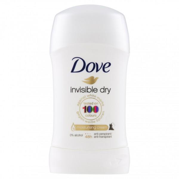 DOVE DEO STICK 30ML INVISIBLE