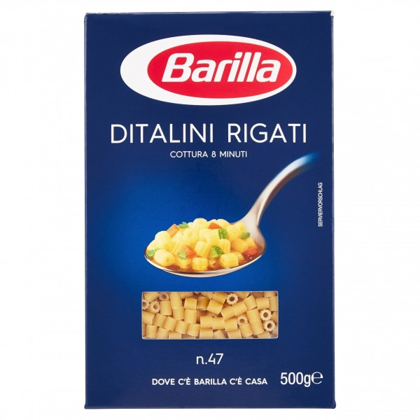 BARILLA DITALINI RIGATI 500 GR