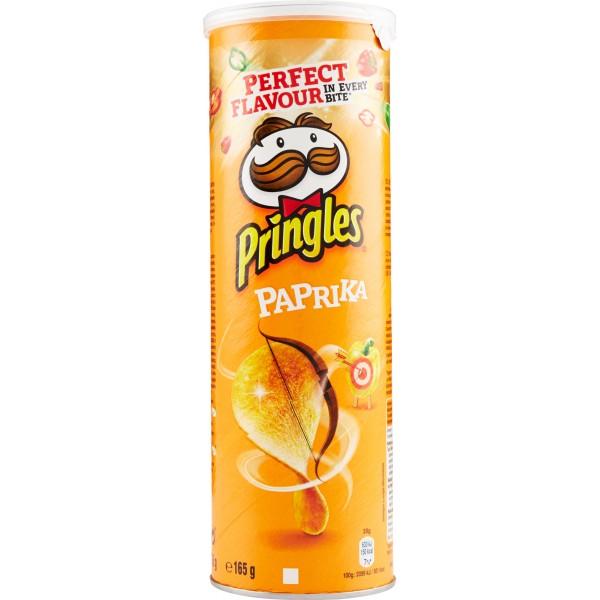 PRINGLES PAPRIKA 175 GR