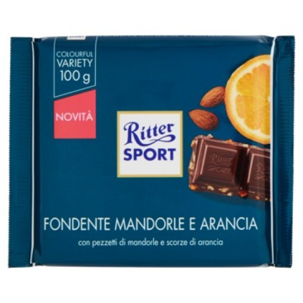 RITTER FONDENTE MANDARINO ARANCIA  100 GR