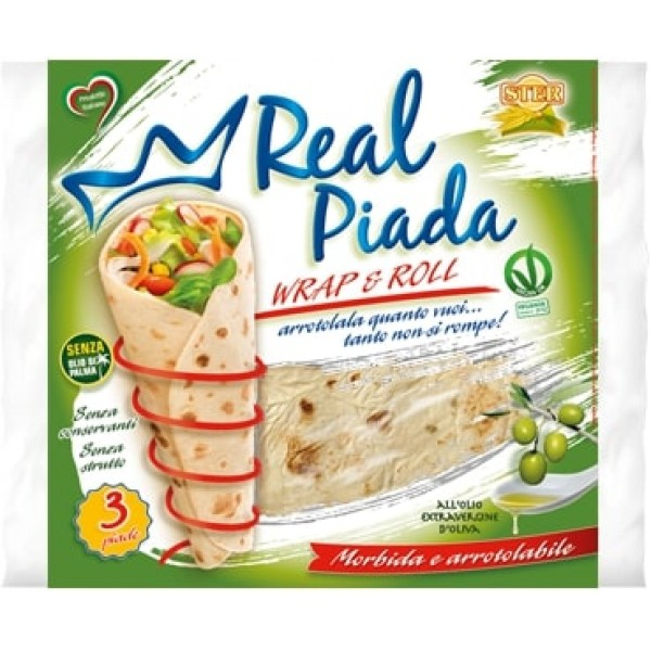 STER REAL PIADA WRAP&ROLL.330G