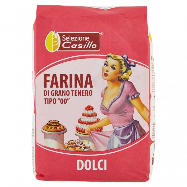 CASILLO FARINA 00 PER DOLCI KG 1