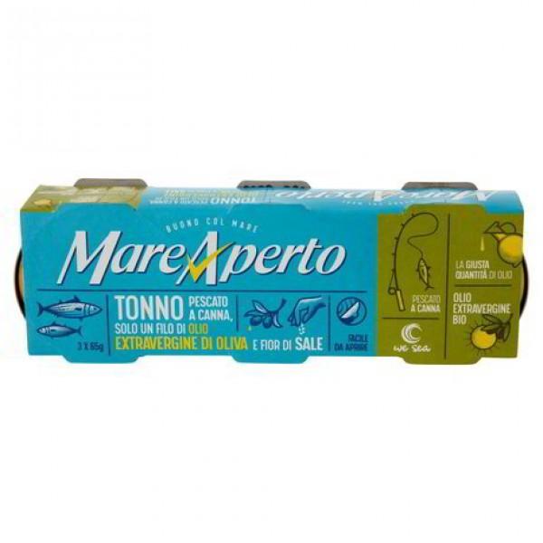 MARE APERTO TONNO PESCATO/CANN