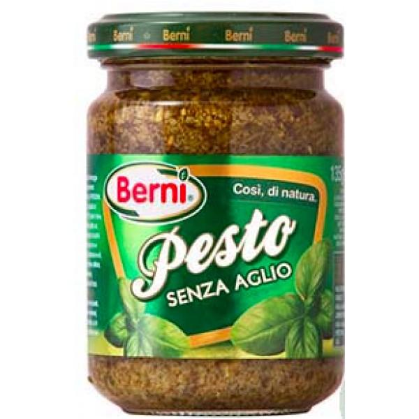 BERNI PESTO BASILICO SENZA AGLIO 135 GR