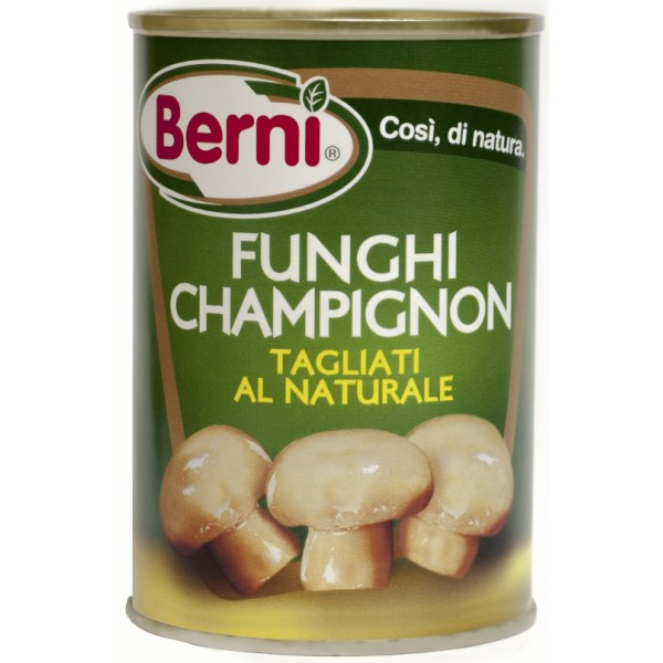BERNI FUNGHI CHAMPIGN.NAT 400 g