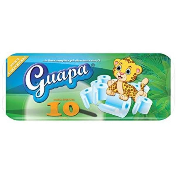 GUAPA CARTA IGIENICA 2 VELI 10 ROTOLI