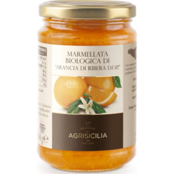 AGRISICILIA MARMELLATA DI ARANCIA DI RIBERA 360 GR
