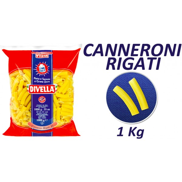 DIVELLA CANNERONI RIGATI N 21 1 KG