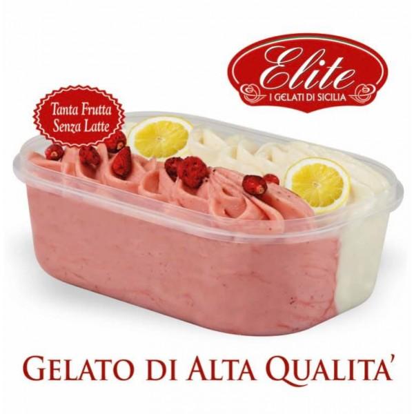 ELITE GELLATO FRAGOLA LIMONE KG.1,1