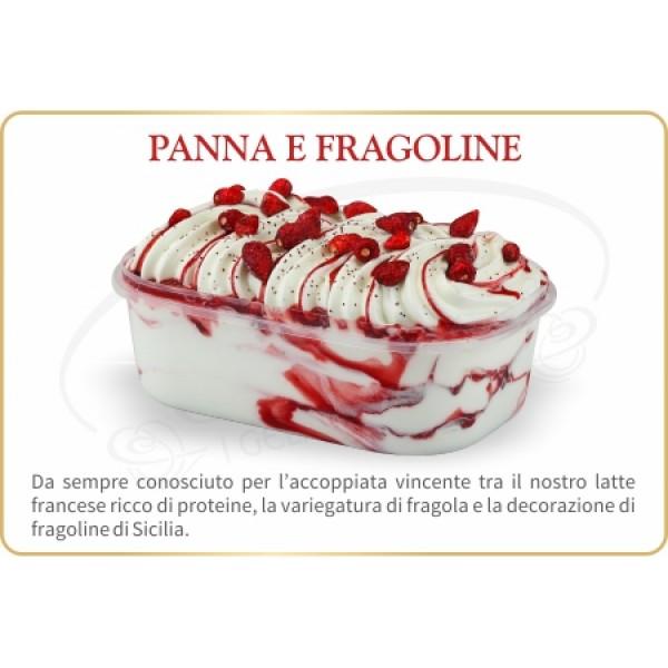 ELITE GELATO PANNNA FRAGOLINE