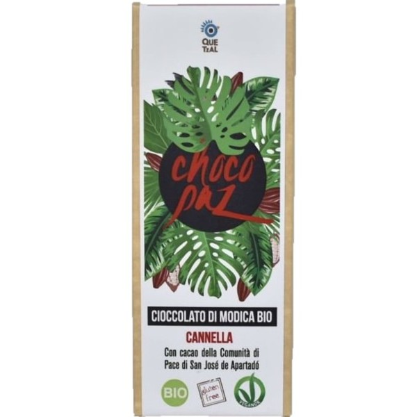 CIOCCOLATA CHOCOPAZ DALLA COLOMBIA - CANNELLA BIO
