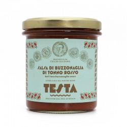 TESTA CONSERVE - SALSA DI BUZZONAGLIA 300 GR