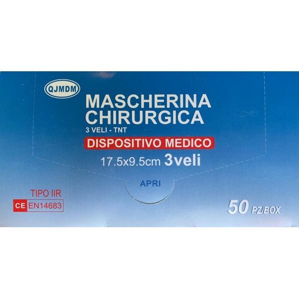 MASCHERINE CHIRURGICHE (50 PEZZI)