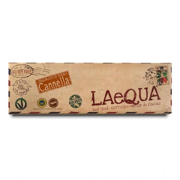 LAeQUA - Cioccolata di Modica alla cannella BIO 60 g