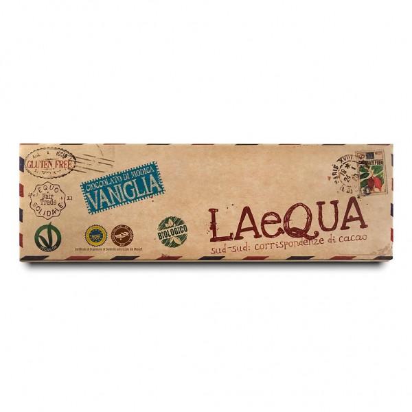 LAeQUA - Cioccolata di Modica alla vaniglia BIO
