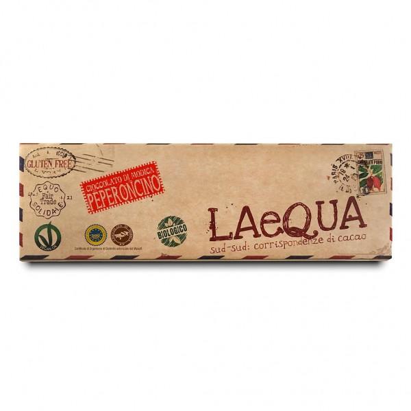LAeQUA - Cioccolata di Modica al peperoncino BIO 60 g