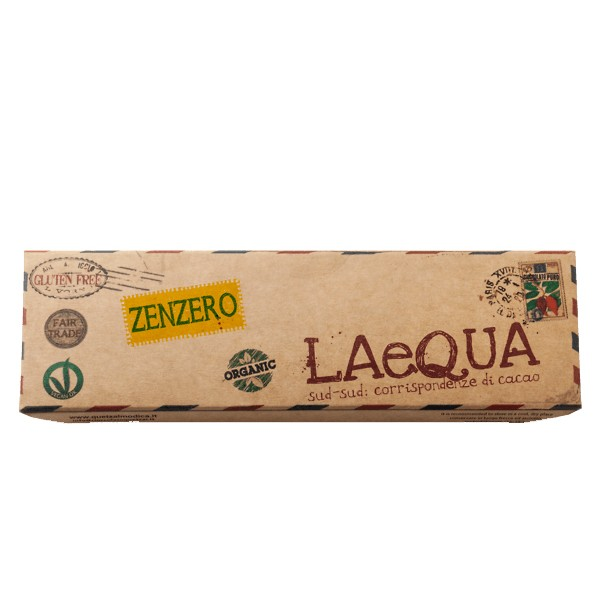LAeQUA - Cioccolata di Modica allo zenzero BIO